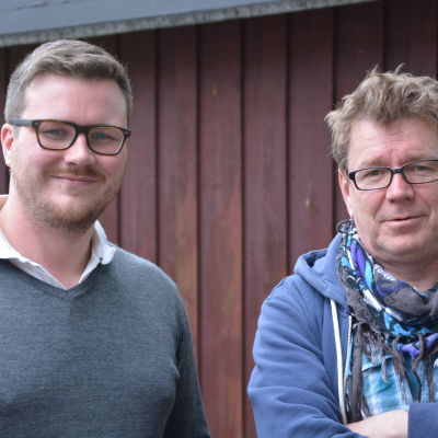Robert Lindberg och Kennet Lindholm i Fredagssnack 26 juni.