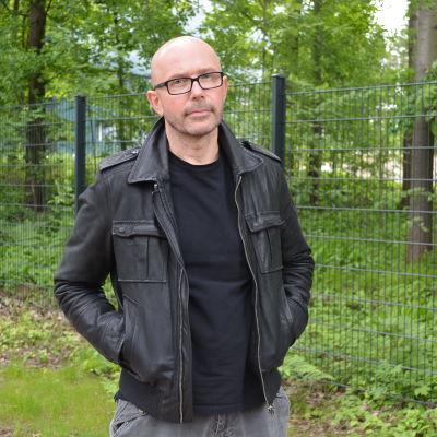 Kjell Lagerroos, en av chefsfotograferna för Tv-serien Jordskott