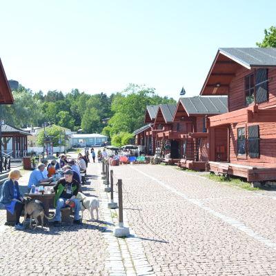 Skeppsbron i Lovisa.