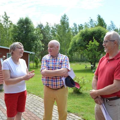 Medlemmar i Pernå skärgårds vattenandelslag.