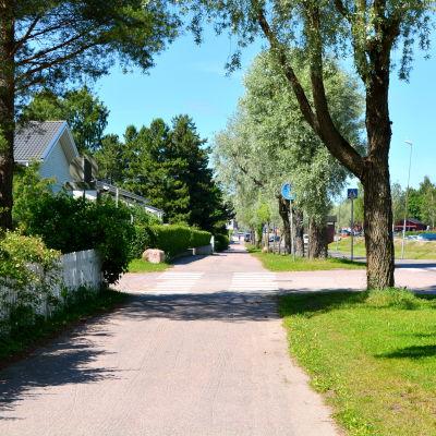 Strandvägen i Lovisa