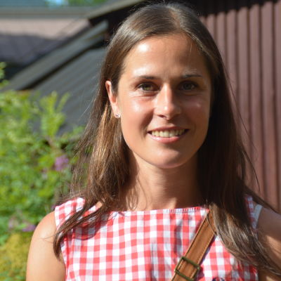 Sara Forsström i Sportmåndag 3.8.2015