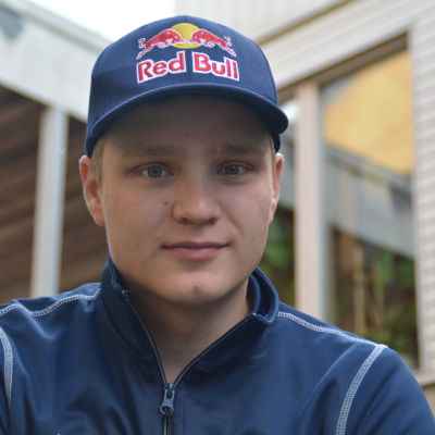 Joni Wiman kör rallycross
