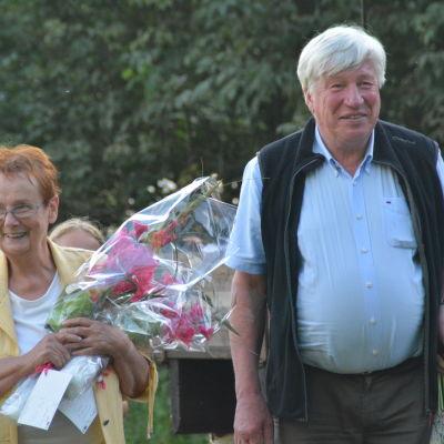 Manusförfattarna Lena Selén och Berndt Gottberg.