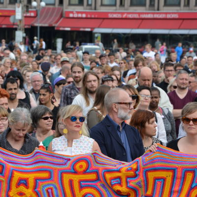Demonstration i Åbo