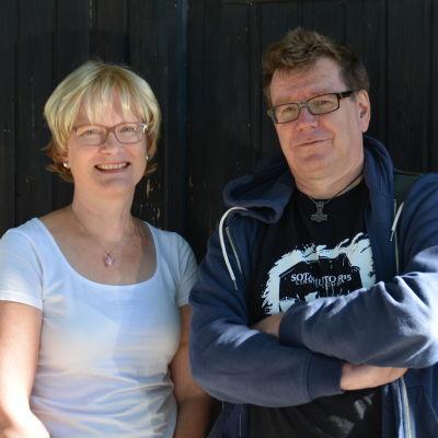 Ulrica Isaksson och Kennet Lindholm.