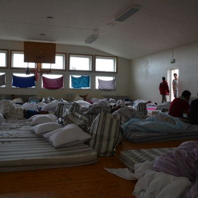 Flyktingförläggning i Pansio, Åbo