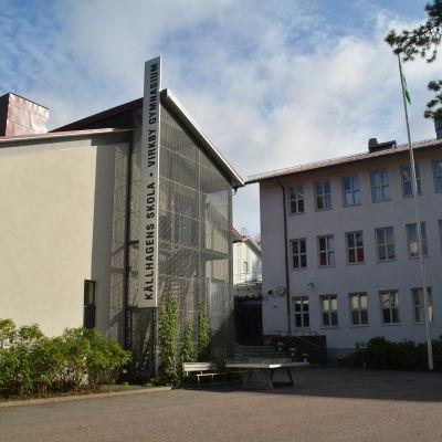 Källhagens skola i Virkby