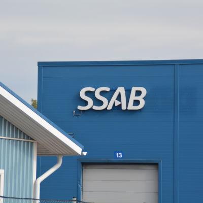En av Ssab:s hallar i Lappvik I Hangö.