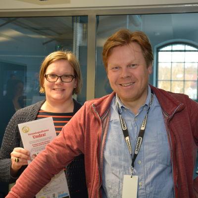 Mia Henriksson och Dan Lolax