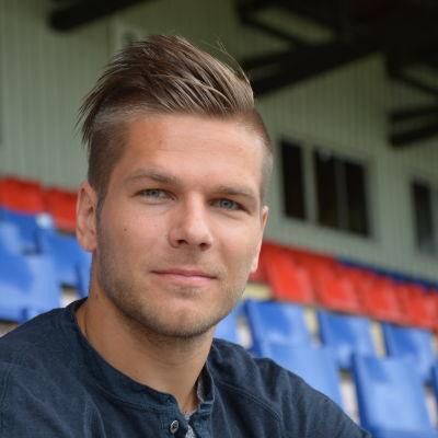 Sebastian Strandvall, VPS kapten.