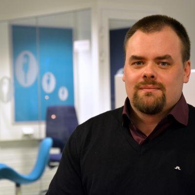 Daniel Åkermark, vd på Föregångarna.