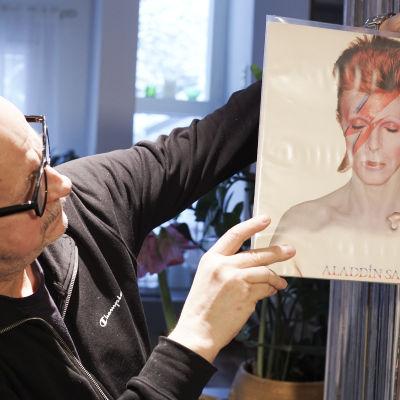 Keijo Lindgren ja David Bowien levy