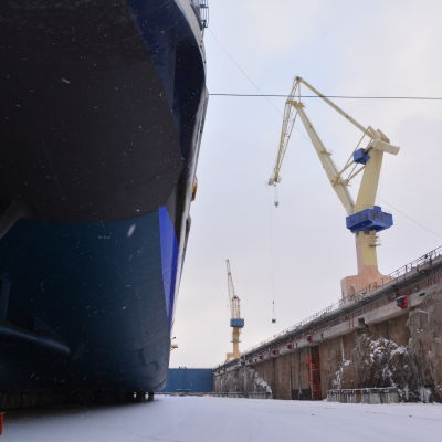 Sjösättning av Mein Schiff 5 januari 2016