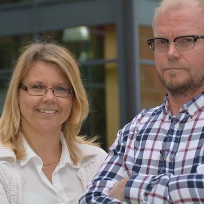 Isabella Alén och Rolf Gammals