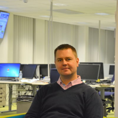 Verksamhetsledare Joonas Turtonen från Nykterhetsförbundet