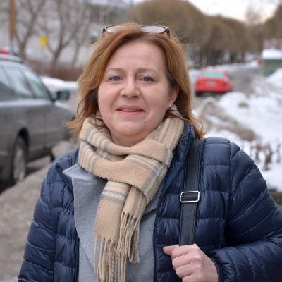 Anci Jylhä, SFP:s kontaktchef i Österbotten.