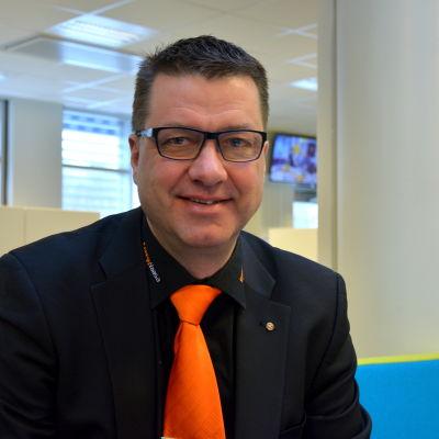 Pekka Haapanen, vd för VASEK.