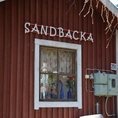 Sandbacka i Kårlax