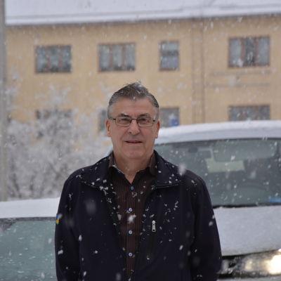 Taxichaufför Krister Båsk