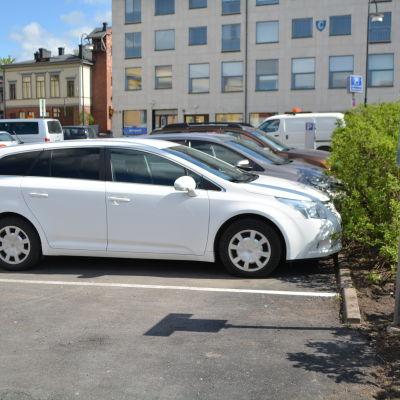 parkerade bilar
