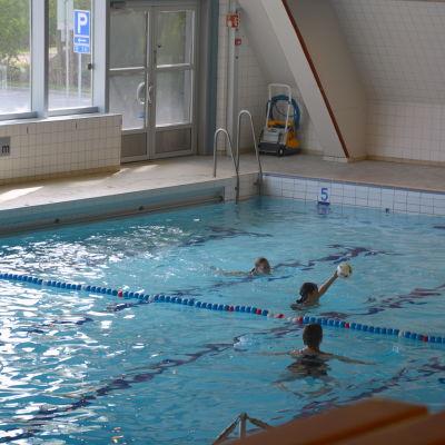 25-meters bassängen i Vasa.