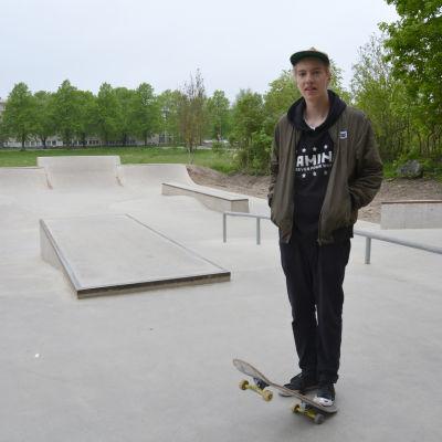 Sebastian Pihli Pargas skatepark
