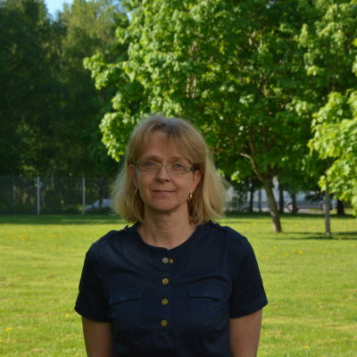 Lena Engstrand, tingsdomare och avdelningschef vid Österbottens tingsrätt i Vasa.
