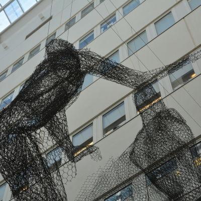Inne i Biocitybyggnaden i Åbo.