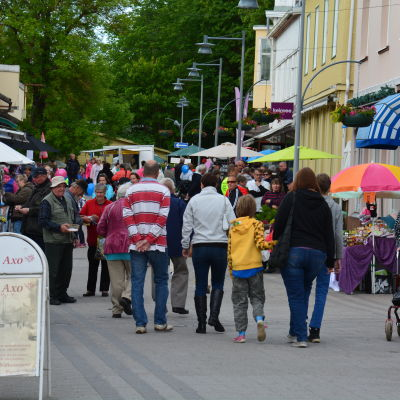 Marknad på Pargasdagarna 2016