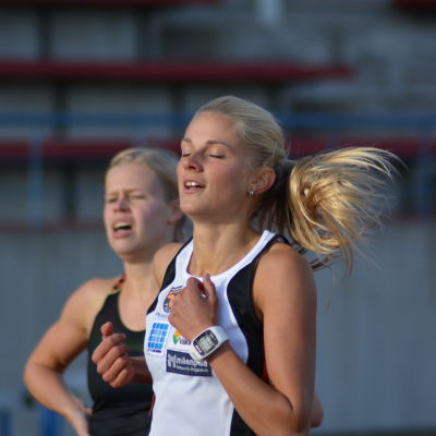 Karin Storbacka, medeldistansare från IK Falken.