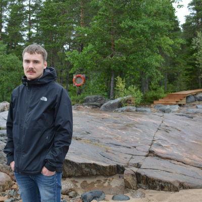 Ungdomsledare Richard Eklund