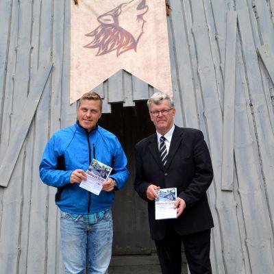 Robert Jordas och Kim Svenskberg.