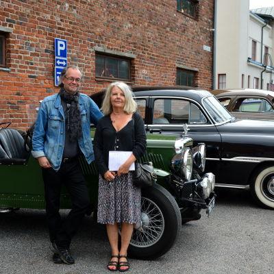 Boo Wennerberg och Gunilla Jonsson från tidningen Vibilägare.
