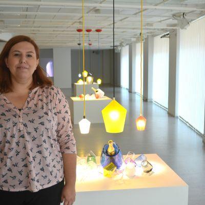 Kulturcentret Caisas nya direktör Cátia Suomalainen Pedrosa