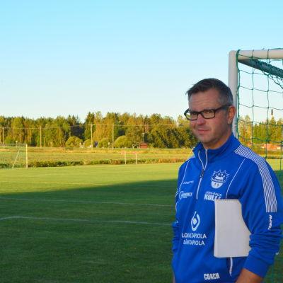 Andreas Gammelgård hoppas på många nöjda fotbollsspelare i Norrvalla cup.