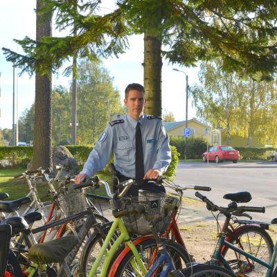 Kommissarie Mikael Appel från Österbottens polisinrättning