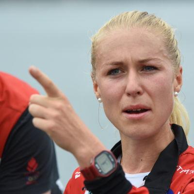 Maja Alm suunnistuksen MM 2016