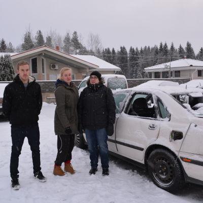 Mikael Heselius, Ann-Sofie Sandin och Liselott Sandin
