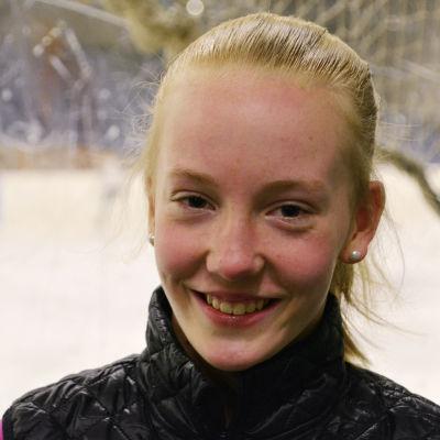 Vera Stolt i ishallen i Borgå 06.02.17