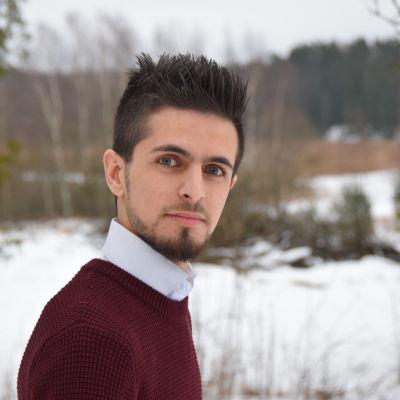 Porträtt på Saad Almosly.