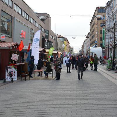 Valgatan i Åbo 2017.