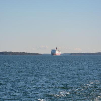 Viking Lines Amorella på Skärgårdshavet.
