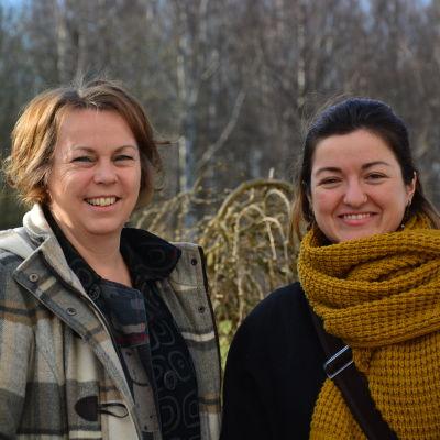 Leena Nyqvist och Ivanka Capova.