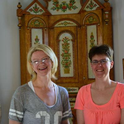 Anette Hästbacka och Therese Beijar