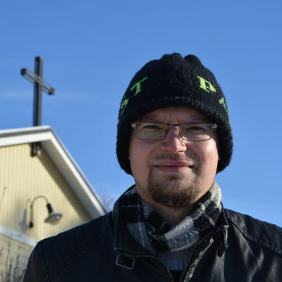 Daniel Norrback, tf kyrkoherde i Kristinestads svenska församling.
