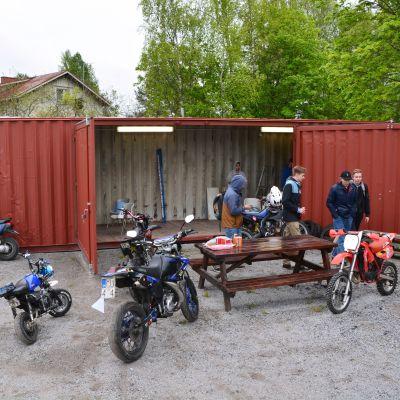 Mopedverkstaden i Box i Sibbo