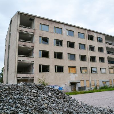 förvaltningsbyggnaden i östanåparken i nickby 2016