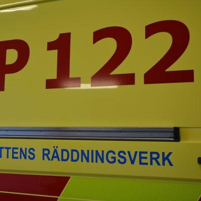 ambulans vid österbottens räddningsverk