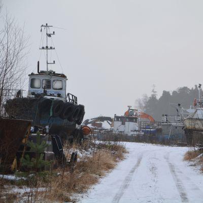 Skallholmen i Tolkis i Borgå